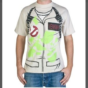 Ghostbusters Venkman Cosplay T-shirt - Size M